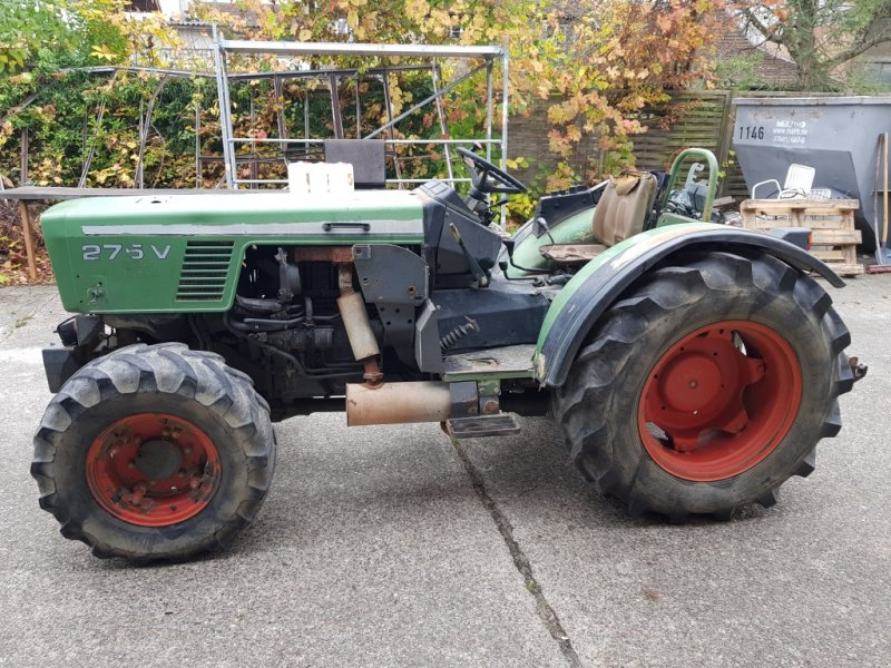 fendt 275 va allrad schmalspur traktor schlepper weinbau. Black Bedroom Furniture Sets. Home Design Ideas