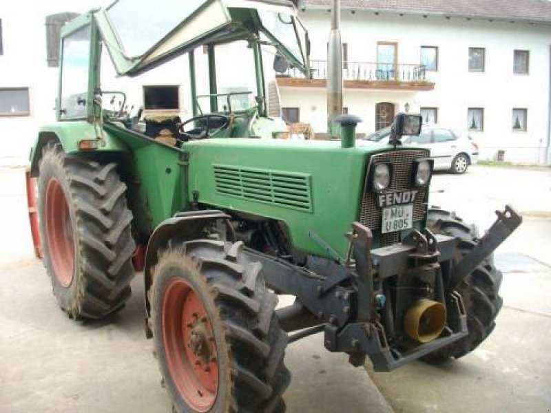 fendt 108 fwa 278 s allrad traktor. Black Bedroom Furniture Sets. Home Design Ideas