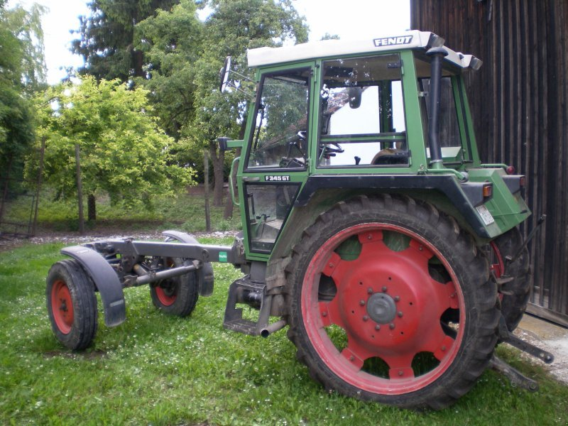 fendt ger tetr ger f 345 gt lang traktor. Black Bedroom Furniture Sets. Home Design Ideas