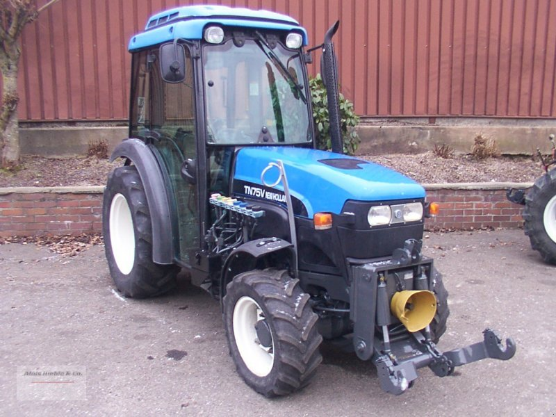 new holland tn 75 v tracteur pour viticulture