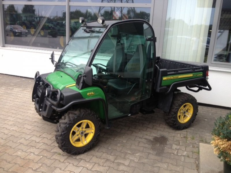 john deere gator 855 xuv transporter motorkarre. Black Bedroom Furniture Sets. Home Design Ideas