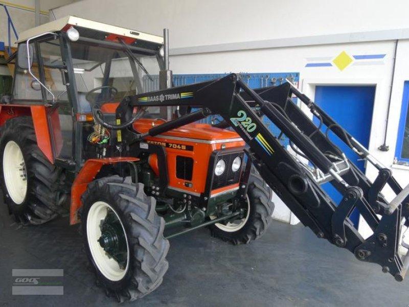 zetor 7045 allrad tracteur