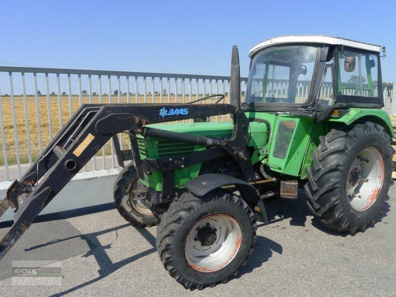 Deutz fahr d allr mit frontlader gut euro traktor