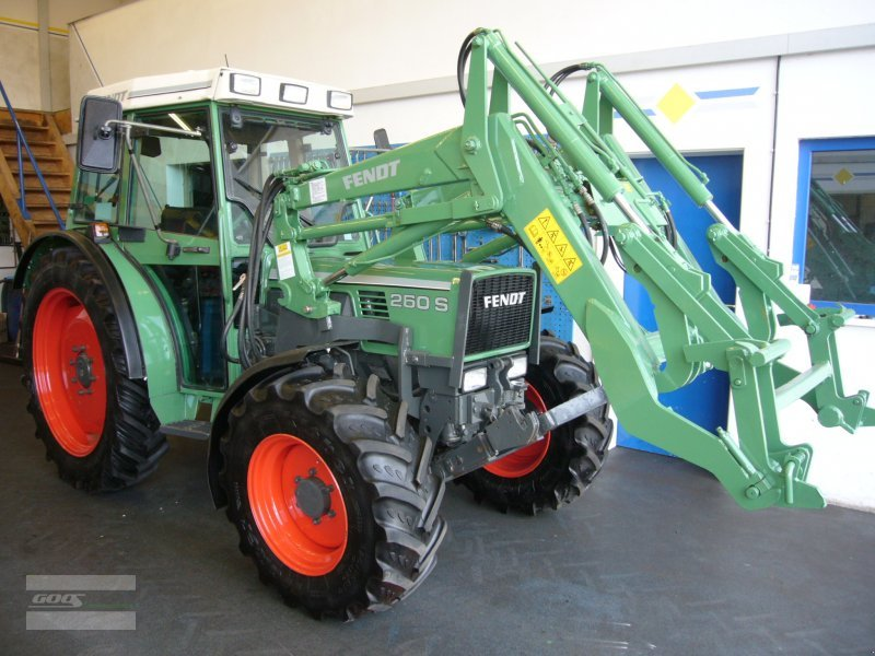 fendt farmer 260 s allrad traktor. Black Bedroom Furniture Sets. Home Design Ideas