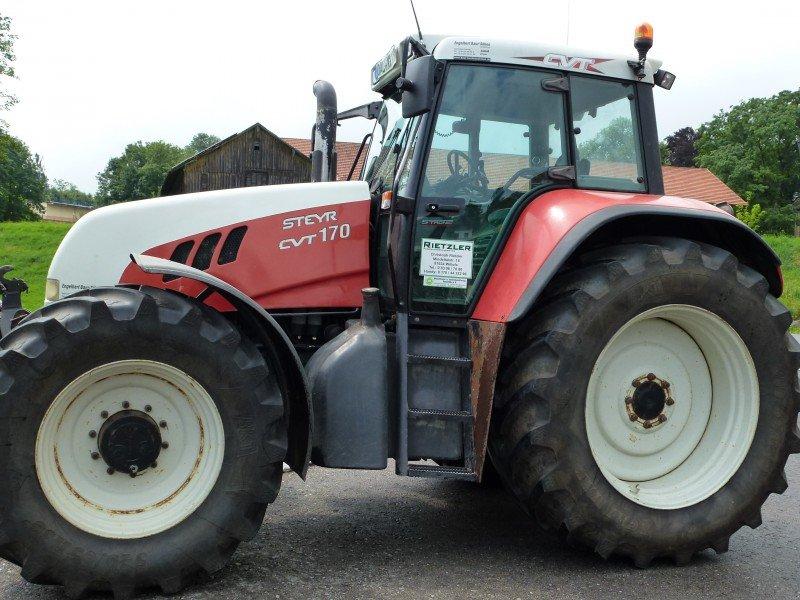 Steyr cvt traktor technikboerse