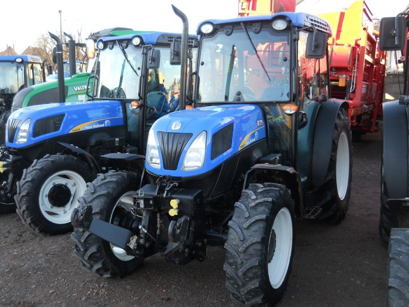 New Holland Orchard Tractors : New holland t f tractor frutícola technikboerse