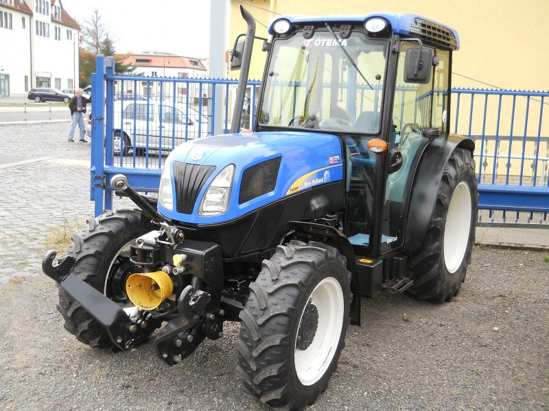 New Holland Orchard Tractors : New holland t f orchard tractor technikboerse