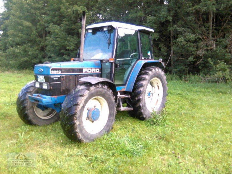 6640 Ford Tractor : Ford powerstar sle tractor technikboerse