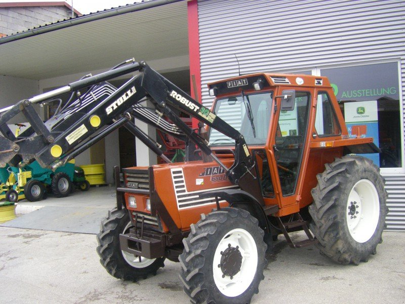 fiat 680 dt tracteur