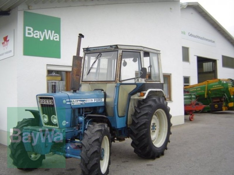 Tractor Data Ford 7600 : Ford tractor technikboerse