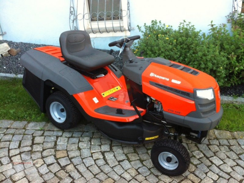 husqvarna cth 126 tracteur tondeuse. Black Bedroom Furniture Sets. Home Design Ideas