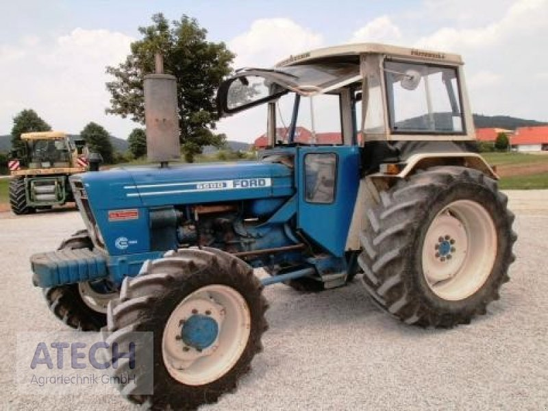 Ford 6600 Tractor : Ford a tractor technikboerse