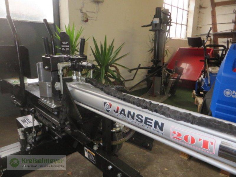 Benzin 20 t 110 cm Holzspalter Jansen HS-20H110 hydr stehend+liegend Aufr.