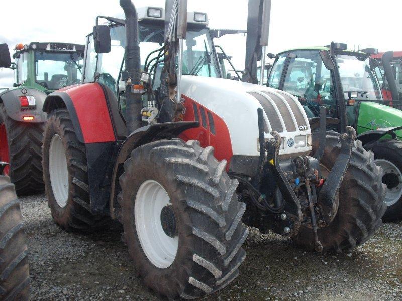 Steyr CVT 130 Tractor  technikboersecom
