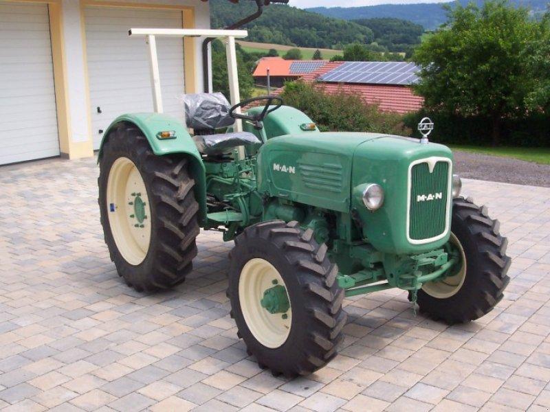 man allrad traktor