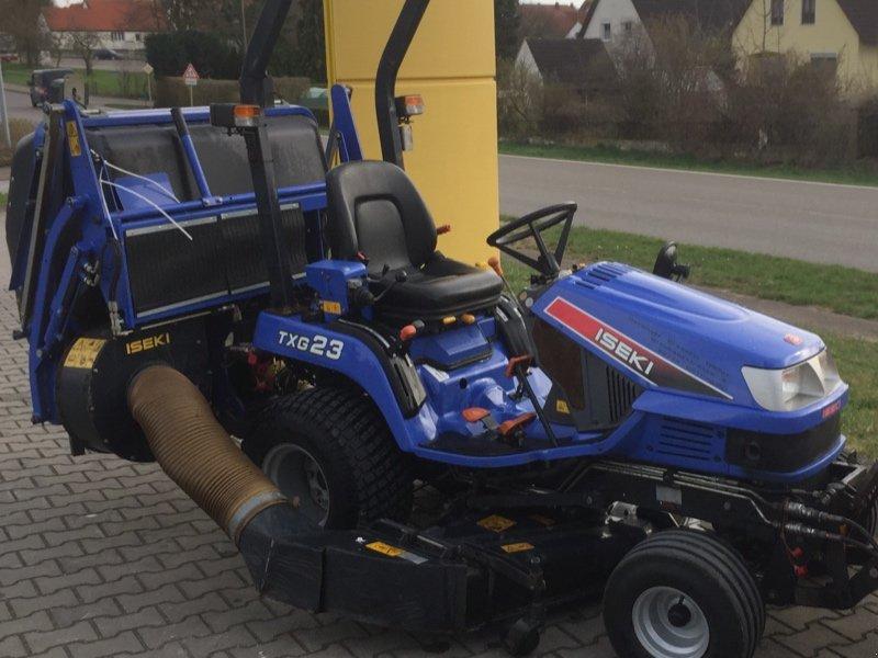 iseki txg23 h mit hochentleerung tracteur