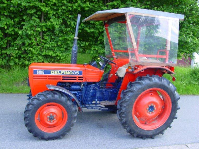 same delfino 35 dt tracteur