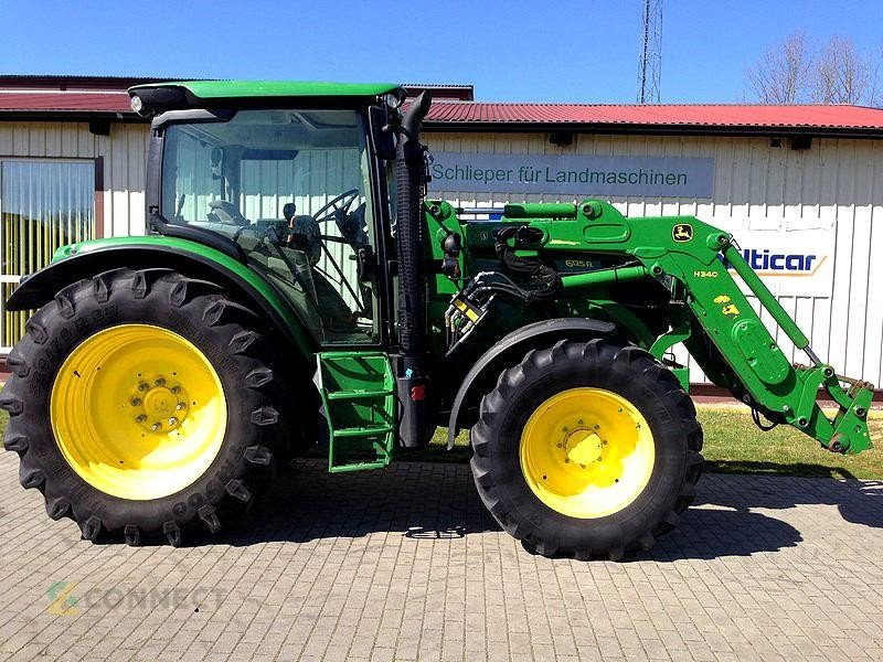 john deere 6125r traktor  03249 sonnewalde