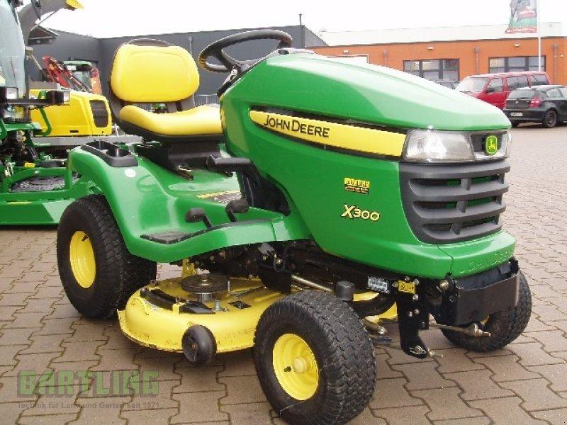 John Deere X300 Lawn Tractor : John deere lawn tractor technikboerse