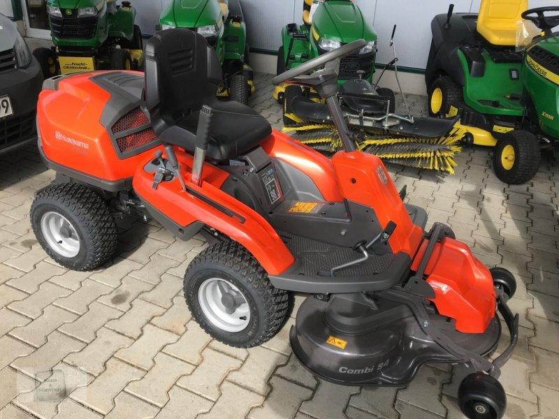 Ganz und zu Extrem Husqvarna R214TC Lawn tractor, 64401 Gross-Bieberau &JS_67
