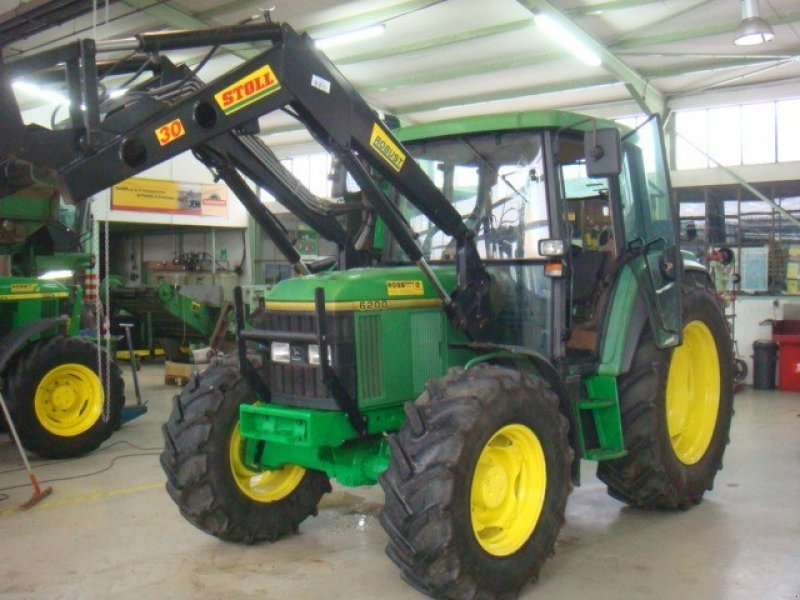 traktor john deere 6200 mit frontlader. Black Bedroom Furniture Sets. Home Design Ideas