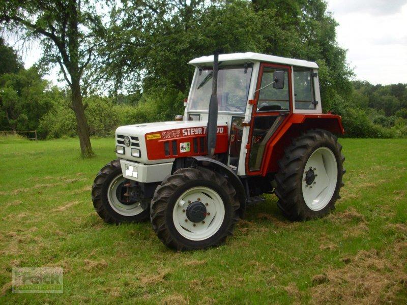 steyr 8065 allrad traktor. Black Bedroom Furniture Sets. Home Design Ideas