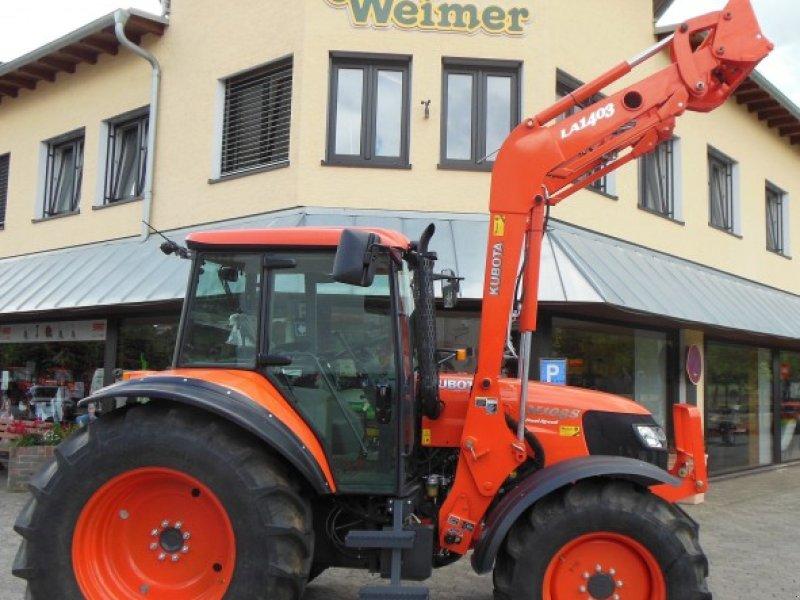 kubota kubota m 108 s mit frontlader sn 71826 traktor. Black Bedroom Furniture Sets. Home Design Ideas
