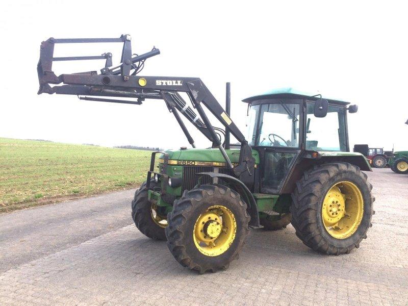 john deere 2650 mit frontlader traktor. Black Bedroom Furniture Sets. Home Design Ideas