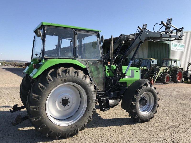 deutz fahr dx mit frontlader traktor 36396 steinau. Black Bedroom Furniture Sets. Home Design Ideas