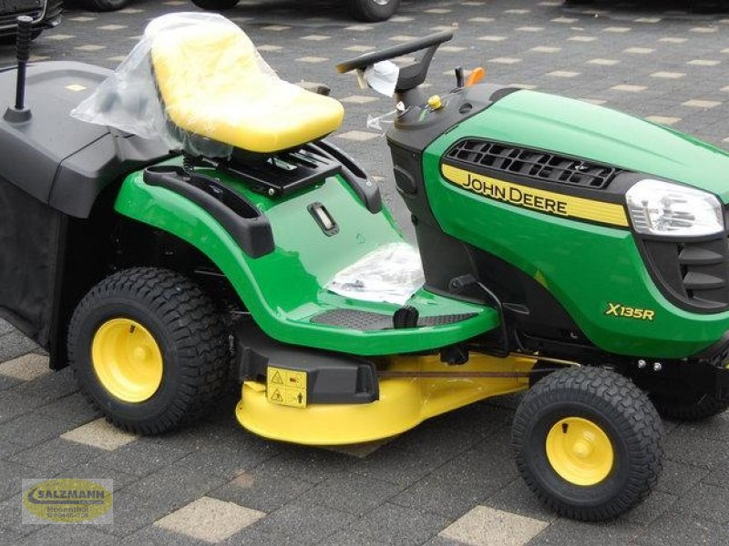 john deere x135r lawn mower. Black Bedroom Furniture Sets. Home Design Ideas