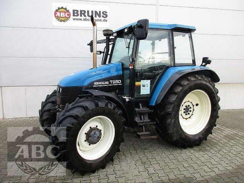 new holland ts 90 es traktor. Black Bedroom Furniture Sets. Home Design Ideas