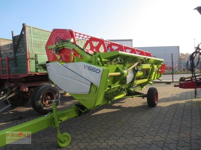 claas vario 660 barre de coupe