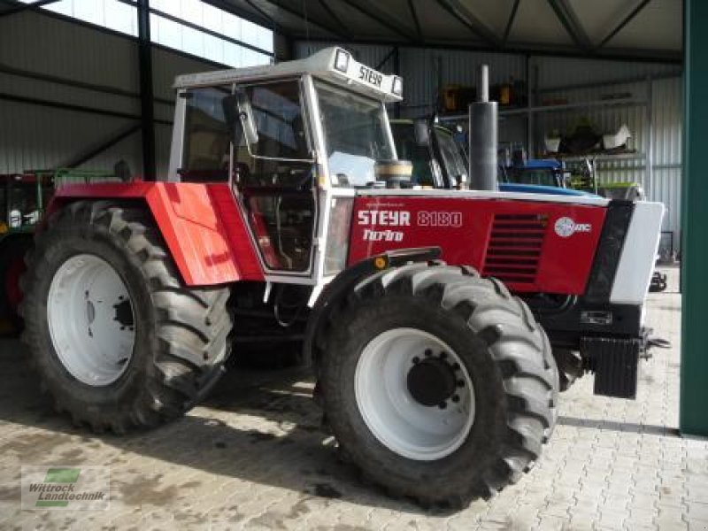 steyr 8180 turbo tracteur