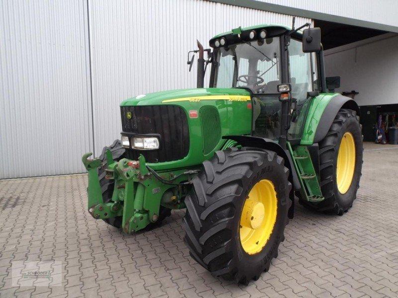 john deere 6820 auto power traktor 27793 wildeshausen. Black Bedroom Furniture Sets. Home Design Ideas