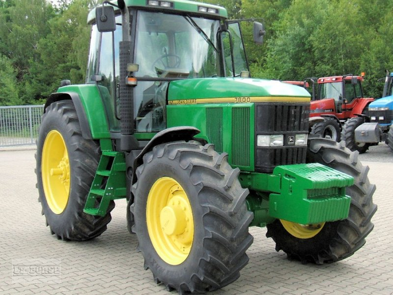john deere 7800 allrad tractor. Black Bedroom Furniture Sets. Home Design Ideas
