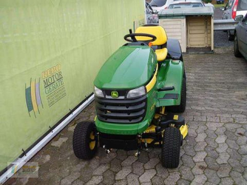john deere x305r rasentraktor lawn tractor. Black Bedroom Furniture Sets. Home Design Ideas