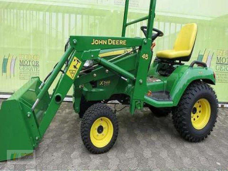 john deere x748 kompakttraktor municipal tractor. Black Bedroom Furniture Sets. Home Design Ideas