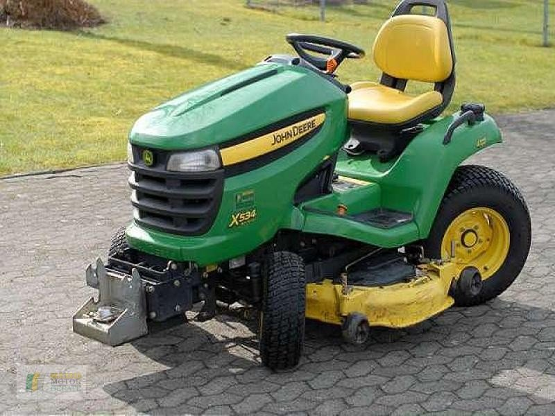 john deere x534 rasentraktor lawn tractor. Black Bedroom Furniture Sets. Home Design Ideas