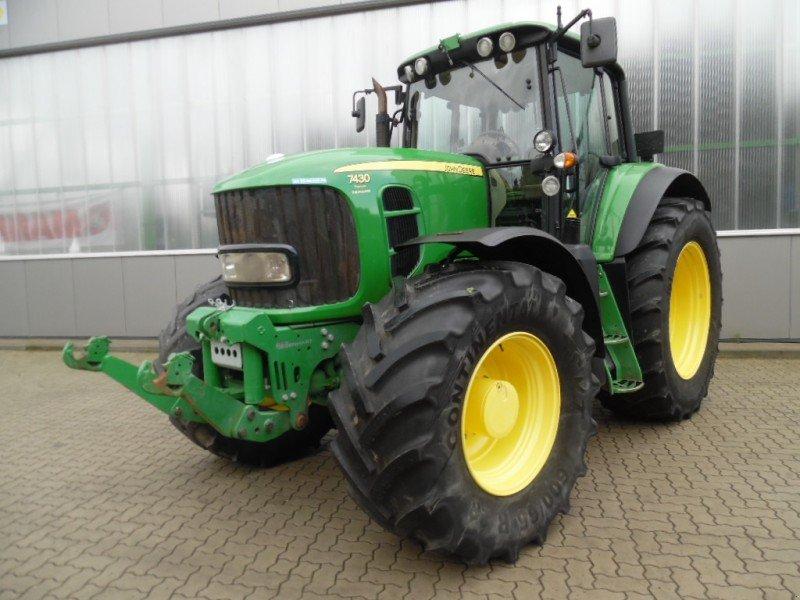 john deere 7430 traktor 27356 rotenburg w mme. Black Bedroom Furniture Sets. Home Design Ideas
