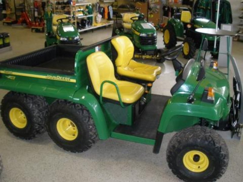 john deere gator 6x4 atv quad. Black Bedroom Furniture Sets. Home Design Ideas