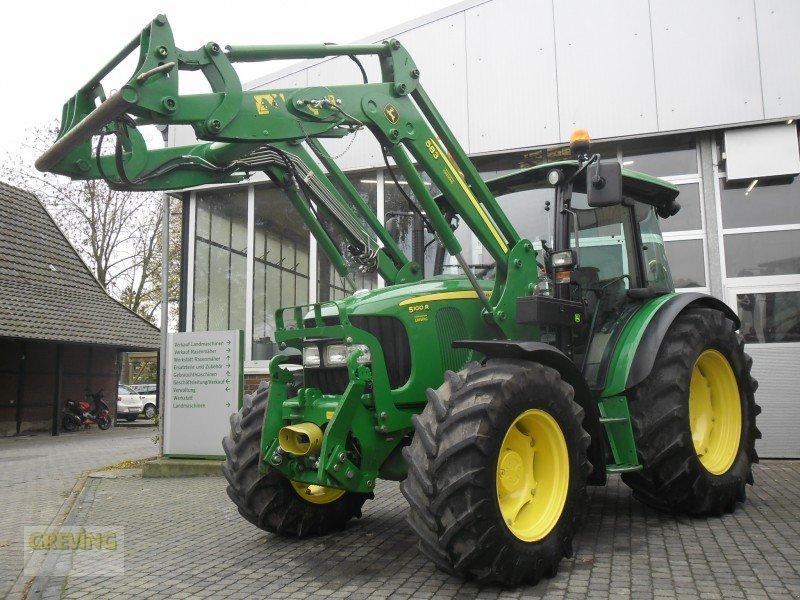 john deere 5100 r traktor. Black Bedroom Furniture Sets. Home Design Ideas