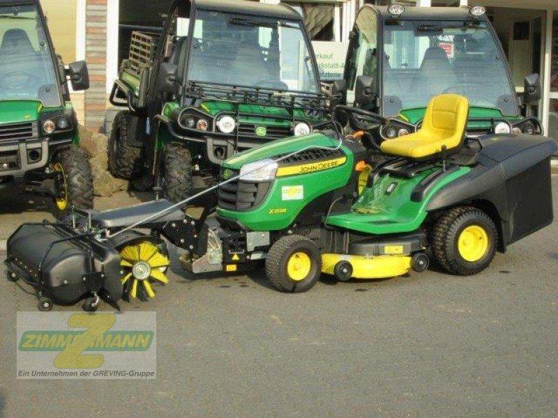 john deere x155r kehrmaschine tracteur tondeuse 50389 wesseling berzdorf. Black Bedroom Furniture Sets. Home Design Ideas