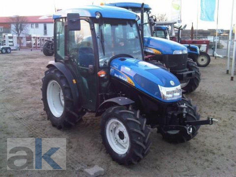 New Holland Orchard Tractors : New holland t orchard tractor technikboerse