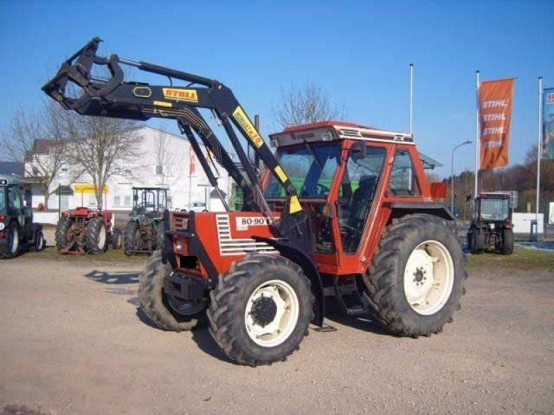 fiat 80  90 dt tracteur