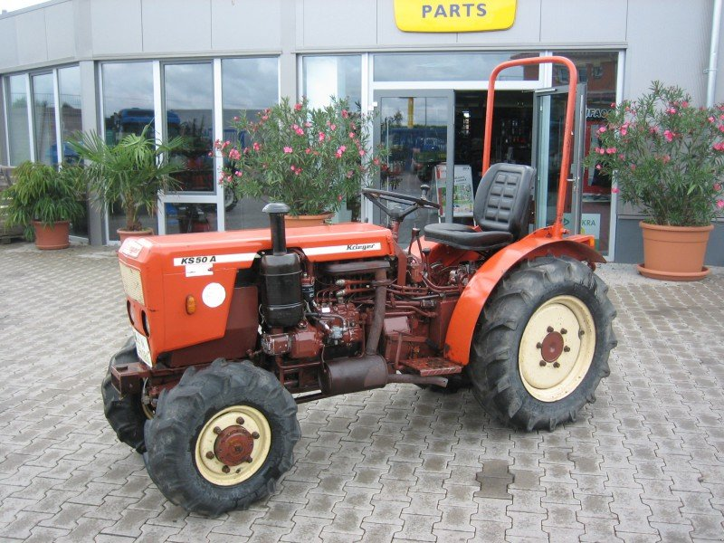 krieger ks50 ak tracteur pour viticulture