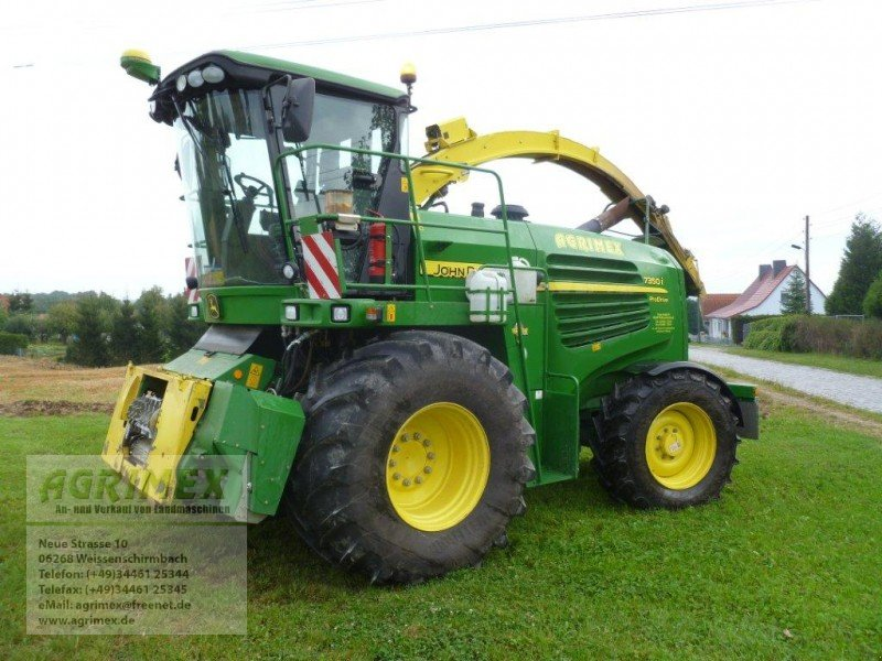 john deere 7350 i allrad forage harvester. Black Bedroom Furniture Sets. Home Design Ideas