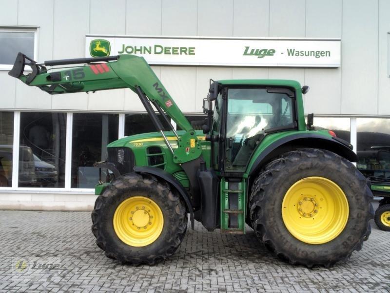 john deere 7530 traktor 98634 wasungen. Black Bedroom Furniture Sets. Home Design Ideas