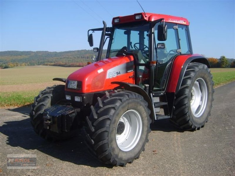 traktor case ih super cs 94 top zustand. Black Bedroom Furniture Sets. Home Design Ideas