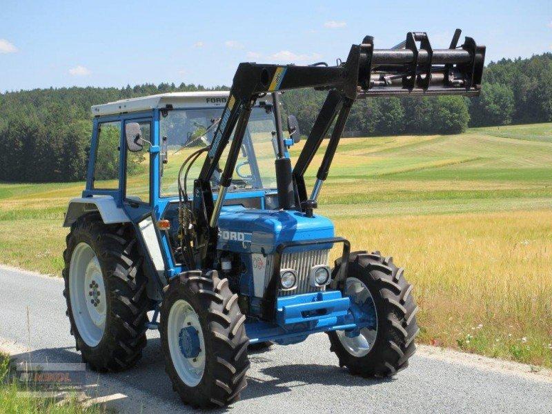 ford 4610 allrad mit frontlader traktor. Black Bedroom Furniture Sets. Home Design Ideas