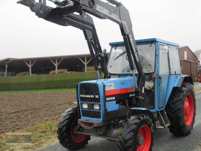 traktor eicher 3056 allrad mit frontlader. Black Bedroom Furniture Sets. Home Design Ideas
